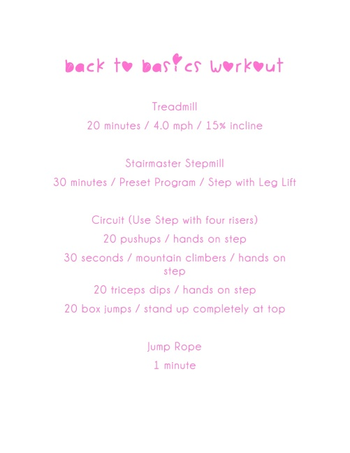 BacktoBasicsWorkout